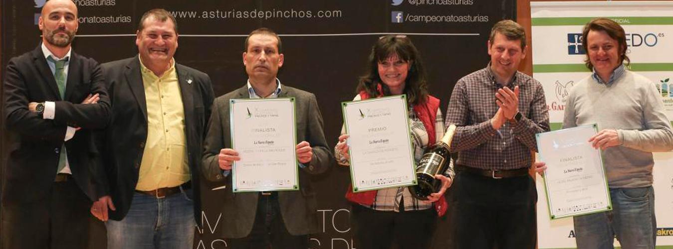 Hostal Parrilla San Roque finalistas en el X Campeonato de Asturias de pinchos y tapas