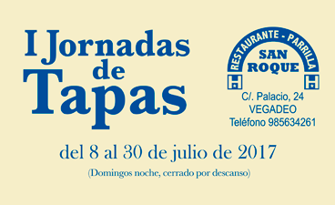 I Jornadas de Tapas Pensión Parrilla San Roque