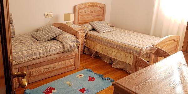 Habitación doble camas 90 Vivienda vacacional