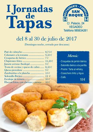I Jornadas Tapas Pensión Parrilla San Roque